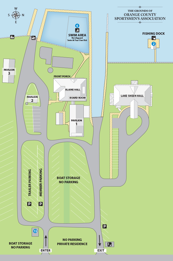 OCSA Grounds Map